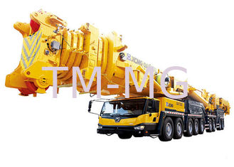 China 8 Segment Single Cylinder hydraulic mobile crane , QAY1200 All Terrian articulating crane supplier
