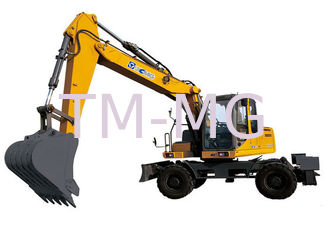China XE150W Excavator 104kw Earthmoving Machinery Powerful digging force supplier