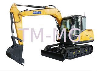 China Advanced Hydraulic System Earthmoving Machinery XE75D Excavator supplier