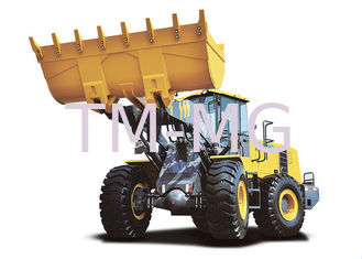 China LW600KV multifunctional 6t Wheel Loader Earthmoving Machinery four wheel drive supplier