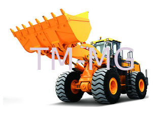China LW1000KN Wheel Loader Earthmoving Machinery , Dual pump Combined Technology supplier