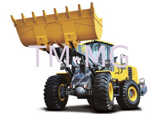 China Energy saving ZL50GV Wheel Loader earthmoving machinery hire EU - III Standard Engine supplier