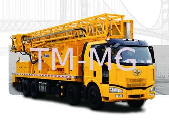 China Mobile truck mounted aerial work platform for Bridge Inspection , XZJ5311JQJ18 supplier