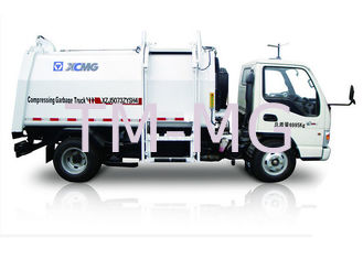 China White garbage truck waste management / side loader waste collection trucks hydraulic system supplier
