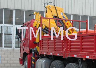 China High Quality  Mobile Commercial 6.3T Knuckle Boom Truck  Mounted Crane with hydraulic arms  For Safety Transport supplier