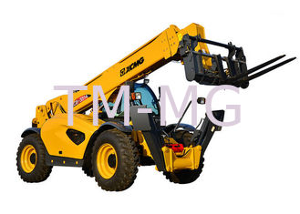 China 10 Ton Telescopic Telehandler Forklift 6290 X 2450 X 2725mm With Good Stability supplier