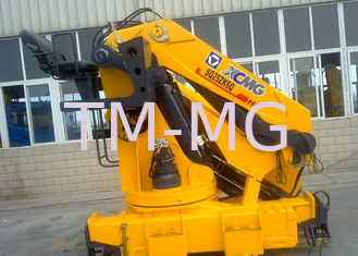 China Durable 25 Tons Commercial Knuckle Boom Truck Mounted Crane, 19m Lifting Height supplier