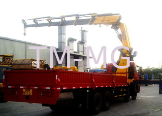 25 Ton Knuckle Boom Truck Mounted Crane Driven By Hydraulic XCMG