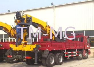 China 25 Ton Knuckle Boom Truck Mounted Crane Driven By Hydraulic XCMG supplier