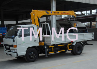 China Lifting Hydraulic Truck Mounted Crane, Fast Response Telescoping Boom Crane supplier