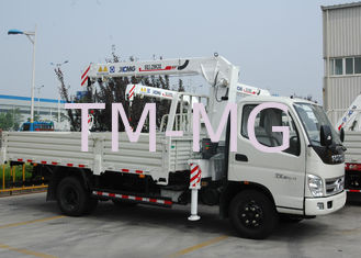 China Durable 3.2 Ton Lifting Telescoping Boom Truck Mounted Crane , 6.72 T.M supplier