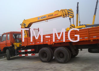 China XCMG Truck Loader Crane, 5 ton Lifting Truck Mounted Crane with High Quality supplier