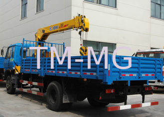China Durable Safety XCMG Transporting Telescopic Boom Truck Mounted Crane, 13m Height supplier