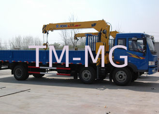 China Durable XCMG Raise And Down Truck Loader Crane Lift , 15.7 T.M 40 L/min supplier