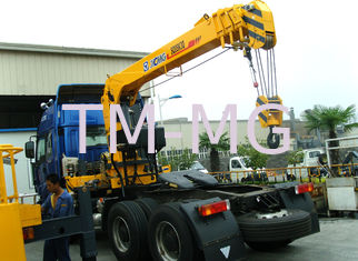 China Advanced 8T XCMG Fast Telescopic Boom Truck Mounted Crane Driven By Hydraulic supplier