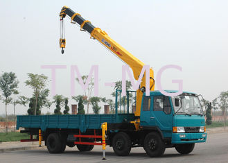 China Durable XCMG Hydraulic Commercial Boom Truck Crane With 100 L/min supplier