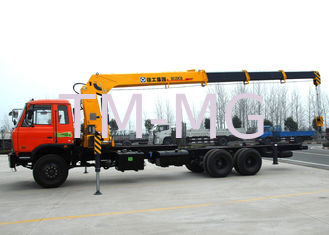 China High auality  12T Telescopic Truck Loader Crane , XCMG Hydraulic Truck Crane supplier