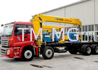 China Best Sales 14 Ton Telescopic Boom Truck Mounted Crane Driven By Hydraulic, 35 T.M supplier