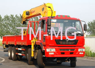 China Mobile Telescopic Boom Truck Crane, 16T 20000mm Lifting Height supplier