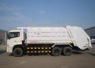 China Hydraulic System Special Purpose Vehicles Rear Loader Garbage Truck With Self Dumping supplier
