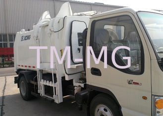 China Special Purpose Vehicles Side Loader Garbage Truck 7300kg with 5000L Carriage Volume supplier