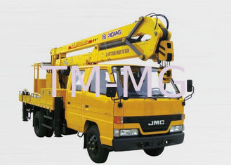 China Durable Knuckle Boom Bucket Truck Lift For Aerial Lifting Machinery supplier