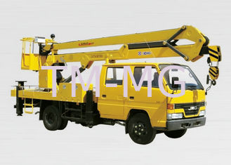China XCMG Bucket Articulating Truck Mounted Lift , 2T Lifting Capacity supplier