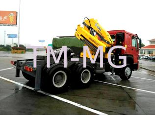 China Vehicle mounted 14 Ton Knuckle Boom Truck Crane For Transporting Heavy Things supplier