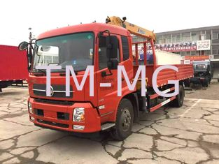 China Knuckle Cargo truck bed mounted crane , 5 Ton Light Truck Loader Crane supplier