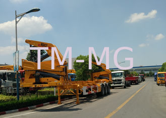 China Xcmg 20ft Truck Mounted Crane Container Side Lifter With Max 37 Tons Load Capacity supplier