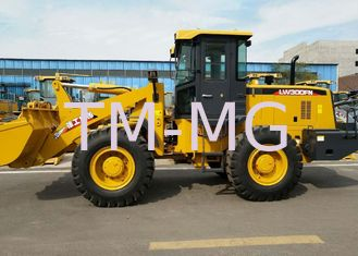 China High strength LW300FN Wheel Loader 3T, Earthmoving Machinery supplier