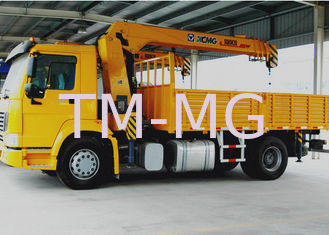 China 8T Boom Truck Crane Cargo Crane 3770kg Truck Safety Transportations supplier