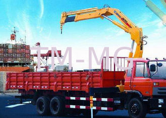 China Portable hydraulic truck mounted cranes 14000kg Knuckle Boom XCMG supplier