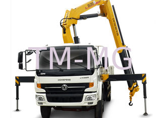 China Durable Knuckle Boom Truck Mounted Crane, Wire Rope Raise And Down 3200 kg supplier