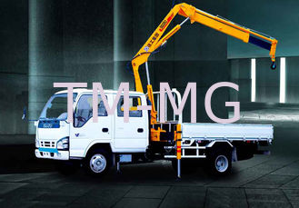 China Durable XCMG Knuckle Boom Truck Crane 1400kg Wire Rope Raise supplier