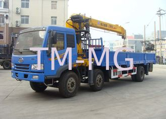 China 8 Ton Telescoping Boom Truck Crane , Hydraulic truck loading crane for sales supplier