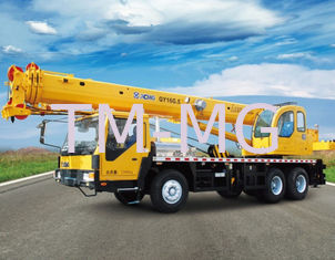 China Telecommunications Hydraulic Mobile Crane With QY16B.5 Truck Crane supplier