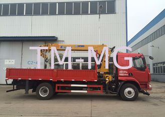 China 8T Truck Mounted Crane XCMG Telescopic Boom Truck Crane  CE ISO supplier