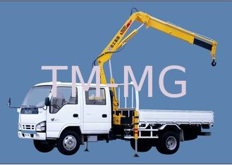 China Structure Knuckle Boom Truck Mounted Crane, 5.5m Max Reach Height supplier