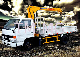 China Durable Mini XCMG Telescopic Truck With Crane , Safety Transportation supplier