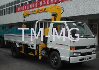 China Light Raise And Down XCMG Truck loader crane With 2.1 Ton, 20 L/min supplier