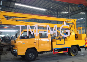 2t operating capacity truck mounted lift Durable Working Basket Boom Lift