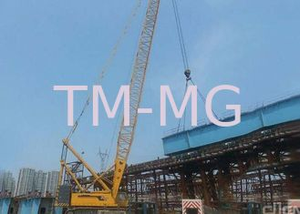 China Durable Heavy Lifting Mobile Hydraulic Crawler Crane Safe For Petrochemical supplier