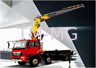 China Durable 25 Ton Articulated Boom Crane , Transportation Truck Loader Crane supplier