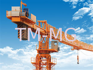 China High Efficiency High Rise Construction Cranes , 12TON Luffing Tower Crane XCP330 supplier