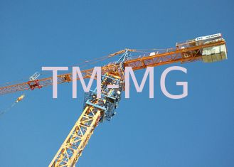 100 Ton 76m Luffing Tower Crane For Building Construction