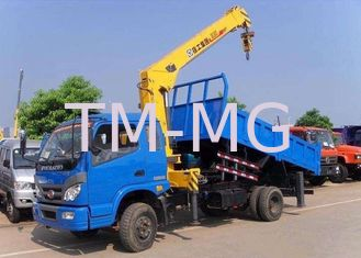 China Telescopic Boom Truck Mounted Crane 6.3 Ton For Safety Transportion supplier