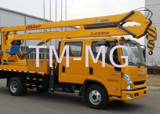 China Durable XCMG Basket Truck Mounted Lift , 5 Ton Aerial Platform Truck supplier