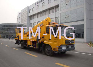 China Reaching Up And Over Machinery Truck Mounted Lift 3 Persons loading supplier