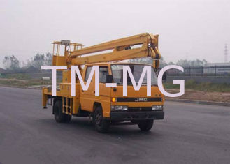 China XCMG articulating boom crane / basket crane truck 2T Lifting Capacity supplier